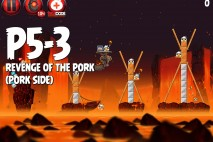 Angry Birds Star Wars 2 Revenge of the Pork Level P5-3 Walkthrough