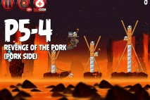 Angry Birds Star Wars 2 Revenge of the Pork Level P5-4 Walkthrough