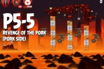 Angry Birds Star Wars 2 Revenge of the Pork Level P5-5 Walkthrough