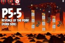 Angry Birds Star Wars 2 Revenge of the Pork Level P5-5 Walkthrough