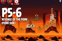 Angry Birds Star Wars 2 Revenge of the Pork Level P5-6 Walkthrough