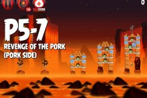 Angry Birds Star Wars 2 Revenge of the Pork Level P5-7 Walkthrough