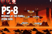 Angry Birds Star Wars 2 Revenge of the Pork Level P5-8 Walkthrough