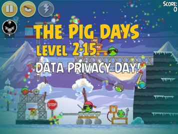 Angry Birds Seasons The Pig Days Level 2-15