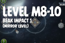 Angry Birds Space Beak Impact Mirror Level M8-10 Walkthrough