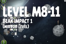 Angry Birds Space Beak Impact Mirror Level M8-11 Walkthrough