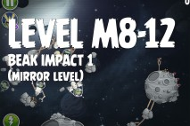 Angry Birds Space Beak Impact Mirror Level M8-12 Walkthrough