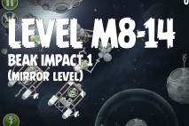 Angry Birds Space Beak Impact Mirror Level M8-14 Walkthrough