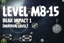 Angry Birds Space Beak Impact Mirror Level M8-15 Walkthrough