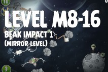 Angry Birds Space Beak Impact Mirror Level M8-16 Walkthrough