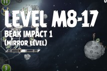Angry Birds Space Beak Impact Mirror Level M8-17 Walkthrough