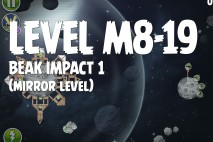 Angry Birds Space Beak Impact Mirror Level M8-19 Walkthrough