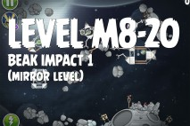 Angry Birds Space Beak Impact Mirror Level M8-20 Walkthrough
