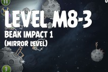 Angry Birds Space Beak Impact Mirror Level M8-3 Walkthrough
