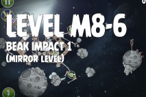 Angry Birds Space Beak Impact Mirror Level M8-6 Walkthrough