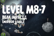 Angry Birds Space Beak Impact Mirror Level M8-7 Walkthrough