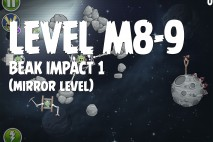 Angry Birds Space Beak Impact Mirror Level M8-9 Walkthrough