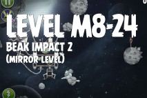 Angry Birds Space Beak Impact Mirror Level M8-24 Walkthrough