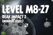 Angry Birds Space Beak Impact Mirror Level M8-27 Walkthrough