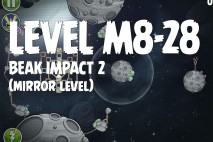 Angry Birds Space Beak Impact Mirror Level M8-28 Walkthrough