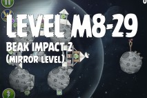 Angry Birds Space Beak Impact Mirror Level M8-29 Walkthrough