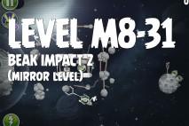 Angry Birds Space Beak Impact Mirror Level M8-31 Walkthrough