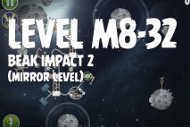 Angry Birds Space Beak Impact Mirror Level M8-32 Walkthrough