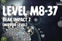 Angry Birds Space Beak Impact Mirror Level M8-37 Walkthrough