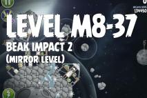 Angry Birds Space Beak Impact Mirror Level M8-37 Walkthrough