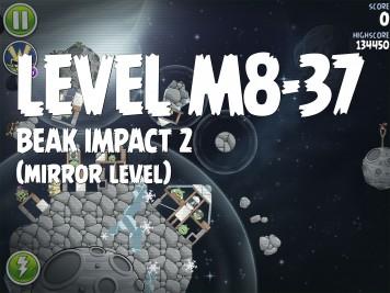Angry Birds Space Beak Impact 2 Level M8-37