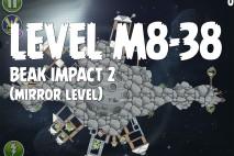 Angry Birds Space Beak Impact Mirror Level M8-38 Walkthrough