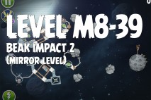 Angry Birds Space Beak Impact Mirror Level M8-39 Walkthrough