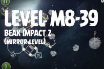 Angry Birds Space Beak Impact Mirror Level M8-39 Walkthrough