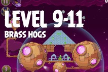 Angry Birds Space Brass Hogs Level 9-11 Walkthrough