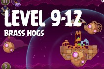 Angry Birds Space Brass Hogs Level 9-12 Walkthrough