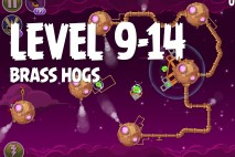 Angry Birds Space Brass Hogs Level 9-14 Walkthrough