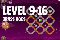 Angry Birds Space Brass Hogs Level 9-16 Walkthrough