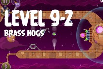 Angry Birds Space Brass Hogs Level 9-2 Walkthrough