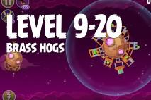 Angry Birds Space Brass Hogs Level 9-20 Walkthrough