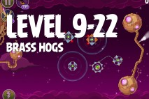 Angry Birds Space Brass Hogs Level 9-22 Walkthrough