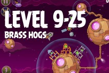 Angry Birds Space Brass Hogs Level 9-25 Walkthrough