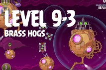 Angry Birds Space Brass Hogs Level 9-3 Walkthrough