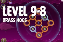 Angry Birds Space Brass Hogs Level 9-8 Walkthrough