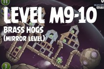 Angry Birds Space Brass Hogs Mirror Level M9-10 Walkthrough