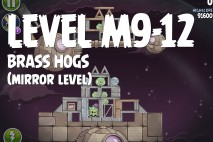 Angry Birds Space Brass Hogs Mirror Level M9-12 Walkthrough