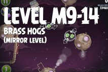 Angry Birds Space Brass Hogs Mirror Level M9-14 Walkthrough