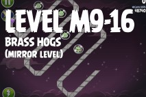 Angry Birds Space Brass Hogs Mirror Level M9-16 Walkthrough