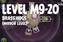 Angry Birds Space Brass Hogs Mirror Level M9-20 Walkthrough