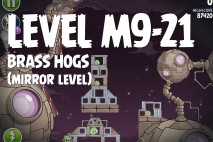 Angry Birds Space Brass Hogs Mirror Level M9-21 Walkthrough