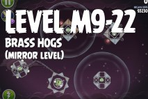 Angry Birds Space Brass Hogs Mirror Level M9-22 Walkthrough